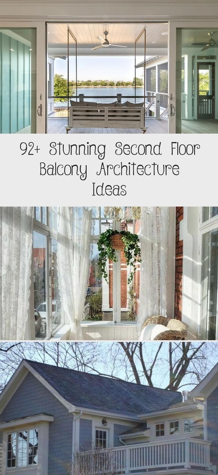 92 Stunning Second Floor Balcony Architecture Ideas In 2020