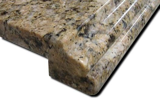 Ogee With Bullnose Return Erfly Antique Granite Kitchen Countertop Ju Li Company Limited
