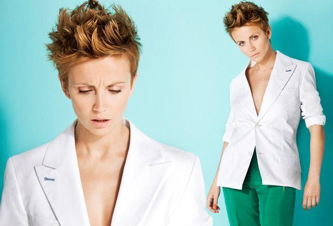 Katarzyna Zielińska Fryzury Szukaj W Google Hair Coat