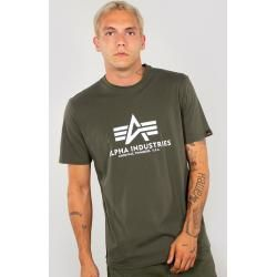 Alpha Industries Basic T-Shirt Weiss Grün 5xl Alpha Industries Inc. #fashionbasics