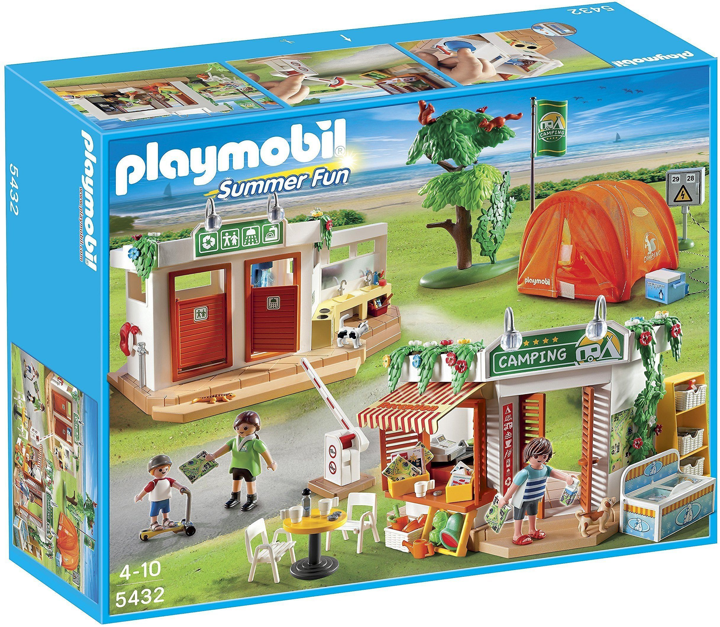 Playmobil Camp Site Play Set Playmobil Camping Fun Best Summer Camps