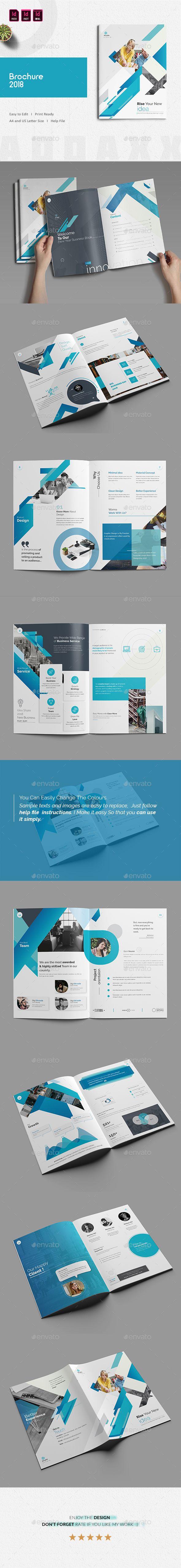 Brochure 2018 | Arte gráfico, Diseño editorial y Revistas