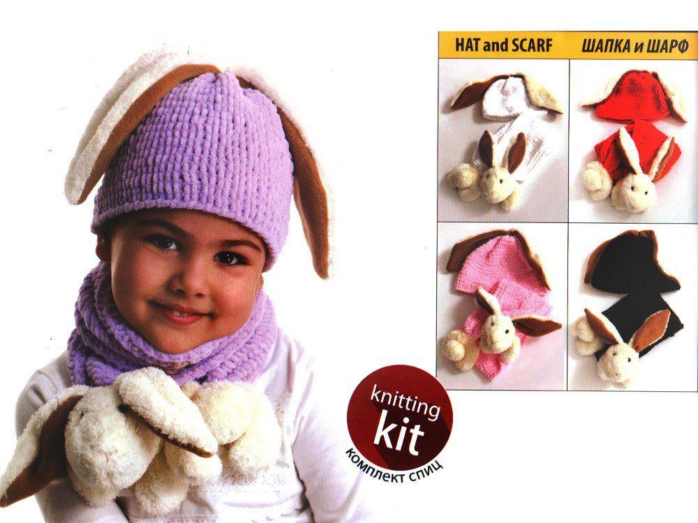 kit tricot echarpe bonnet