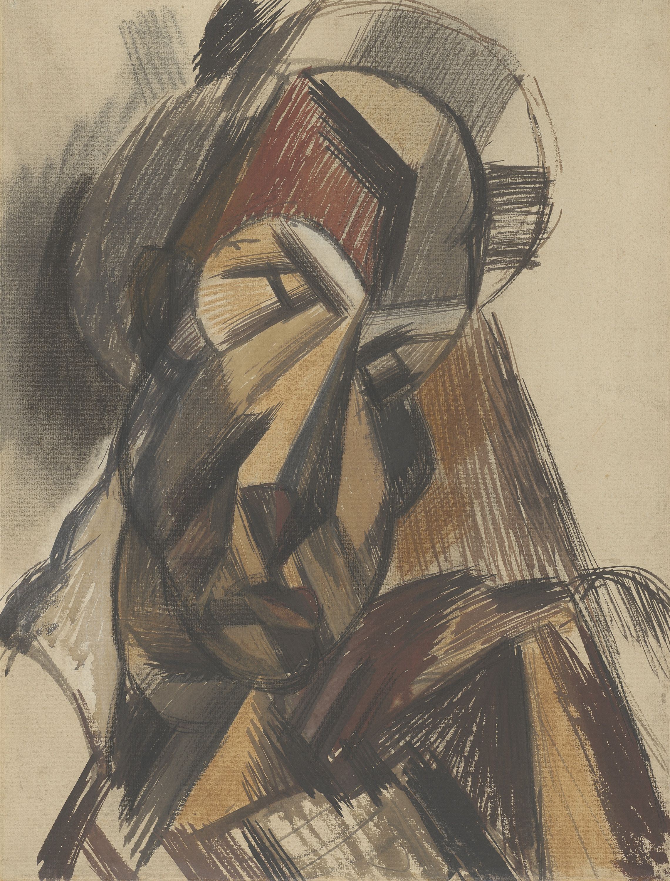 Picasso Head Of Woman