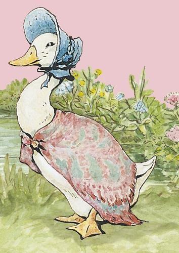 Beatrix Potter Peter Rabbit Scarf Original Illustrations Blue Classic Scarf