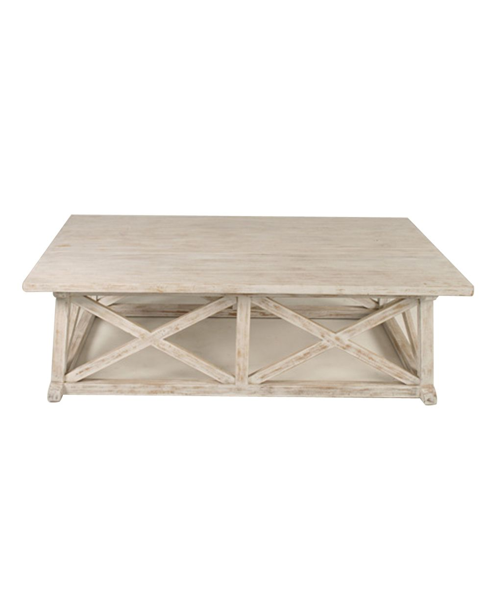 Sutton Coffee Table White Wash Furniture Tables Tail