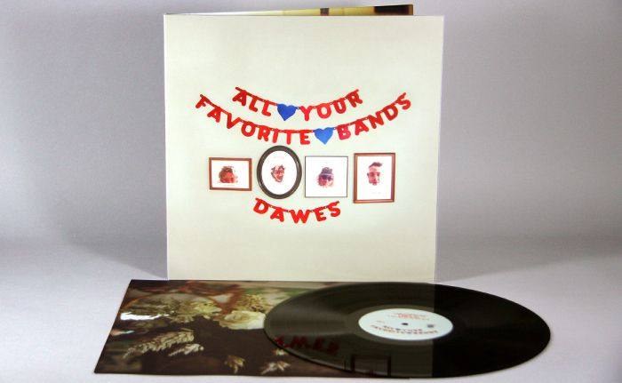 Dawes All Your Favorite Bands 12 180g Vinyl Lp Furnace Record Pressing News Vinyl Your Favorite Band