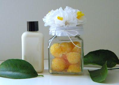 Etceteras: sugar scrub and pretty packaging #prettypackaging