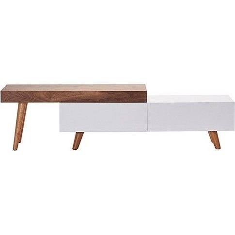 New York Scandinavian White Tv Unit W Mdf Table Top Buy Modern Tv Units Apartment Furniture Furniture White Tv Unit