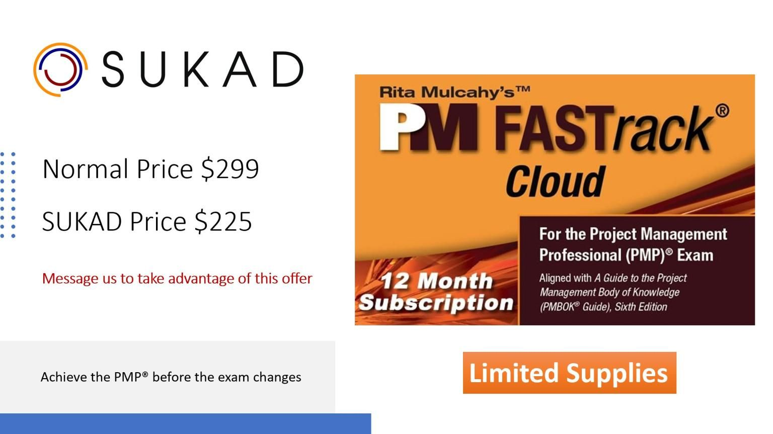 If You Are Interested In The Pmp And Want To Achieve It Before The