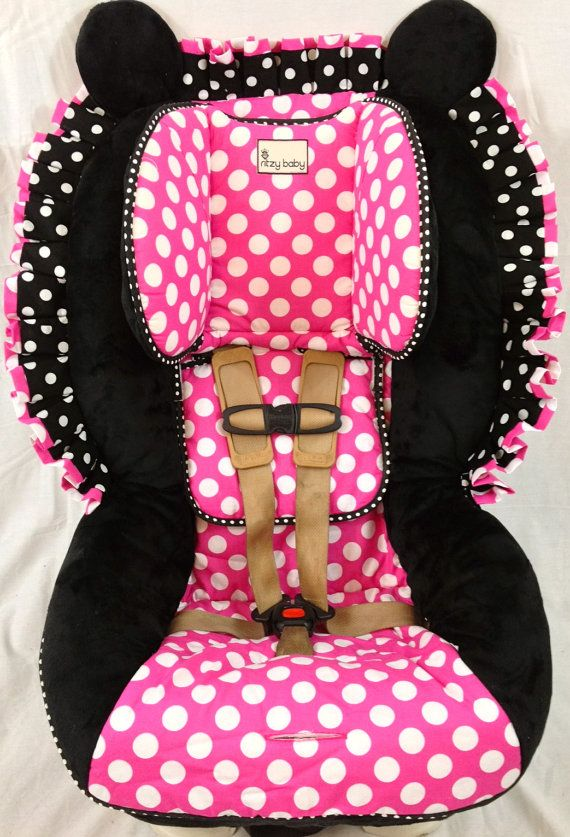 Britax Advocate Custom Toddler Replacement Cover Minnie Mouse Hot Pink Polka Dot Covers