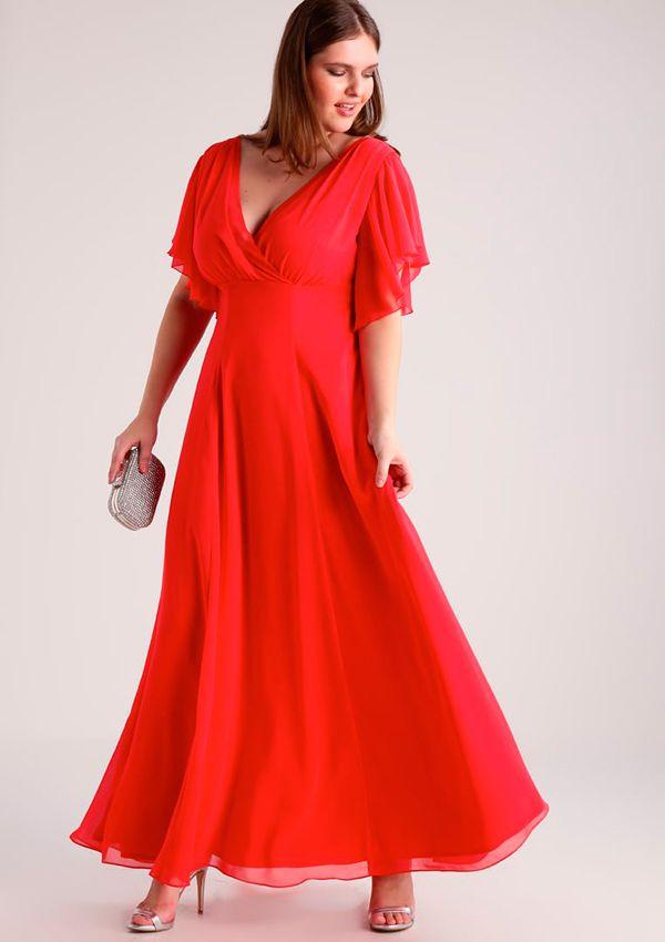 4dcde94afed59 Sobre curvas e invitadas perfectas  20 Vestidos de fiesta  plus size ...