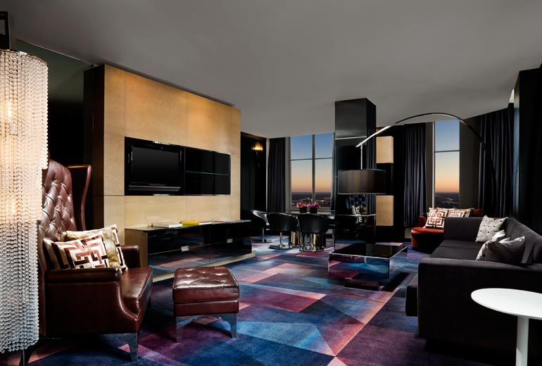 Extreme WOW Suite   Living Room   W MINNEAPOLIS   THE FOSHAY Part 42
