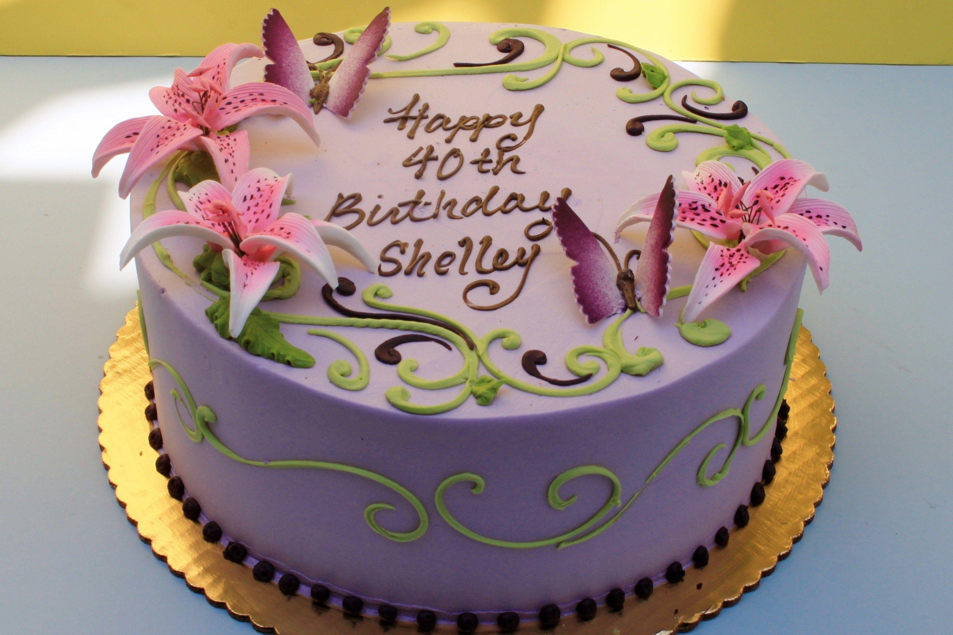 Shelleys Birthday Cake