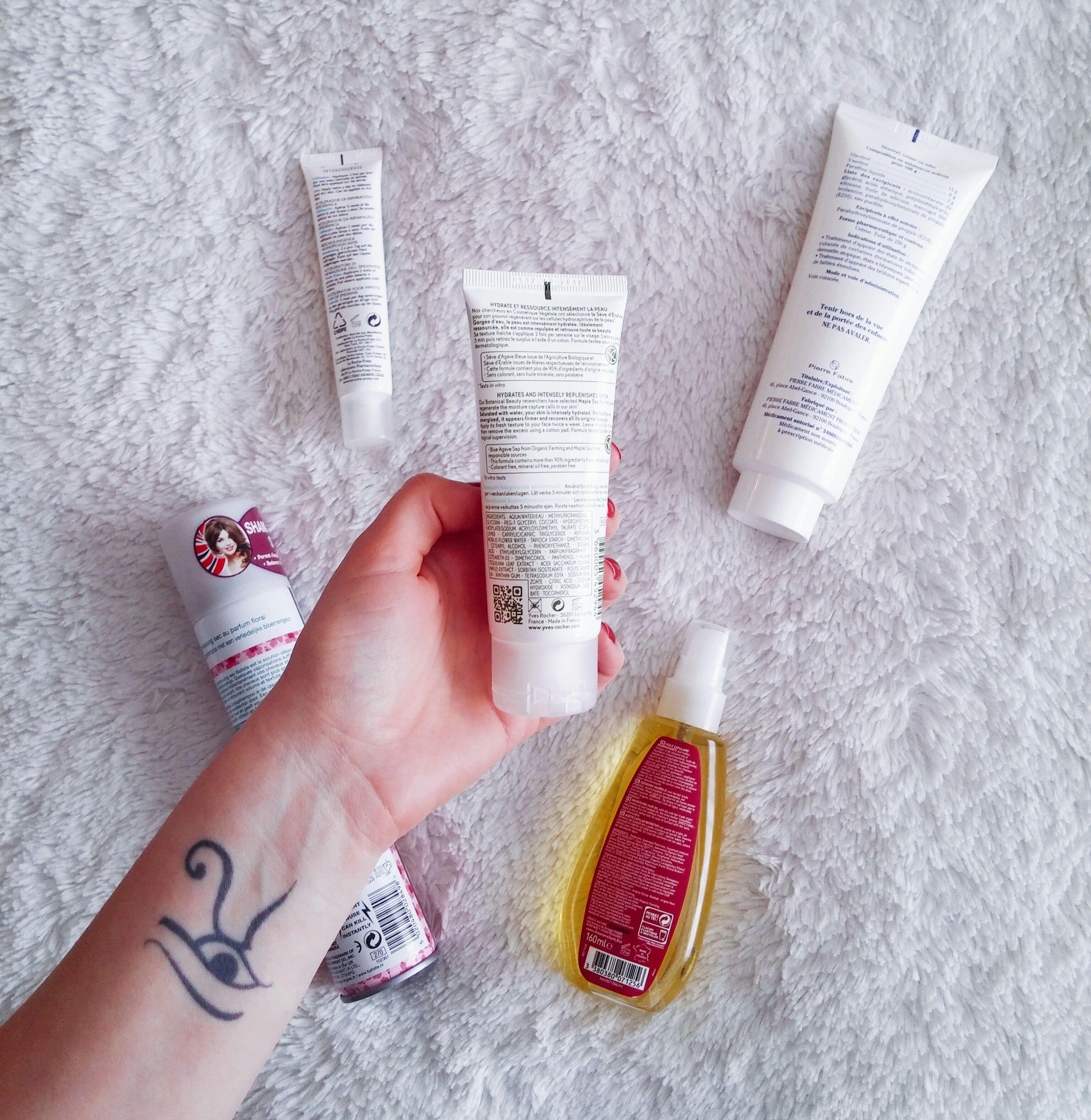 Decrypter les composants dans nos cosmétiques.
