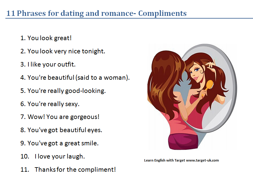 Dating vocabulary english