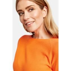 Photo of Gerry Weber Pullover aus reiner Baumwolle in gebranntem Orange für Frauen Gerry Weber