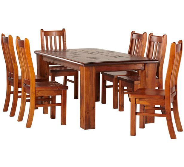 Normandy Dining Set 7 Piece Fantastic Furniture