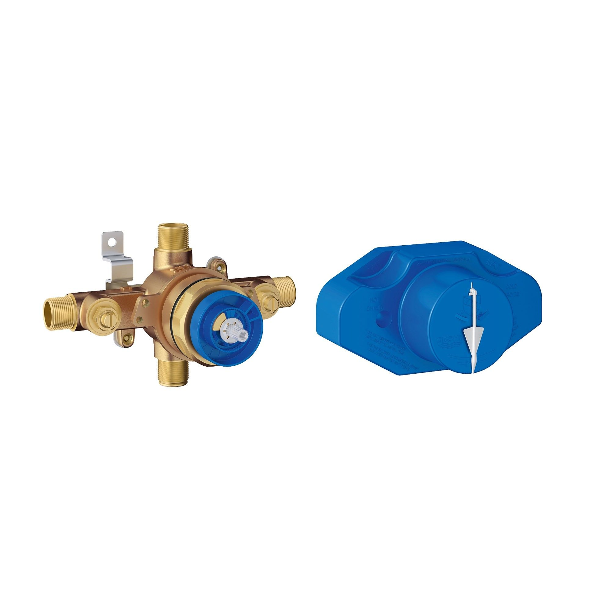 Grohe America Inc 35 015 Universal Pressure Balance Rough In