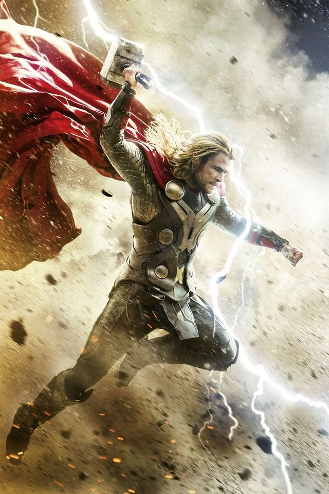 Thor 2 Dark World Iphone 4s Wallpapers Marvel Thor Thor
