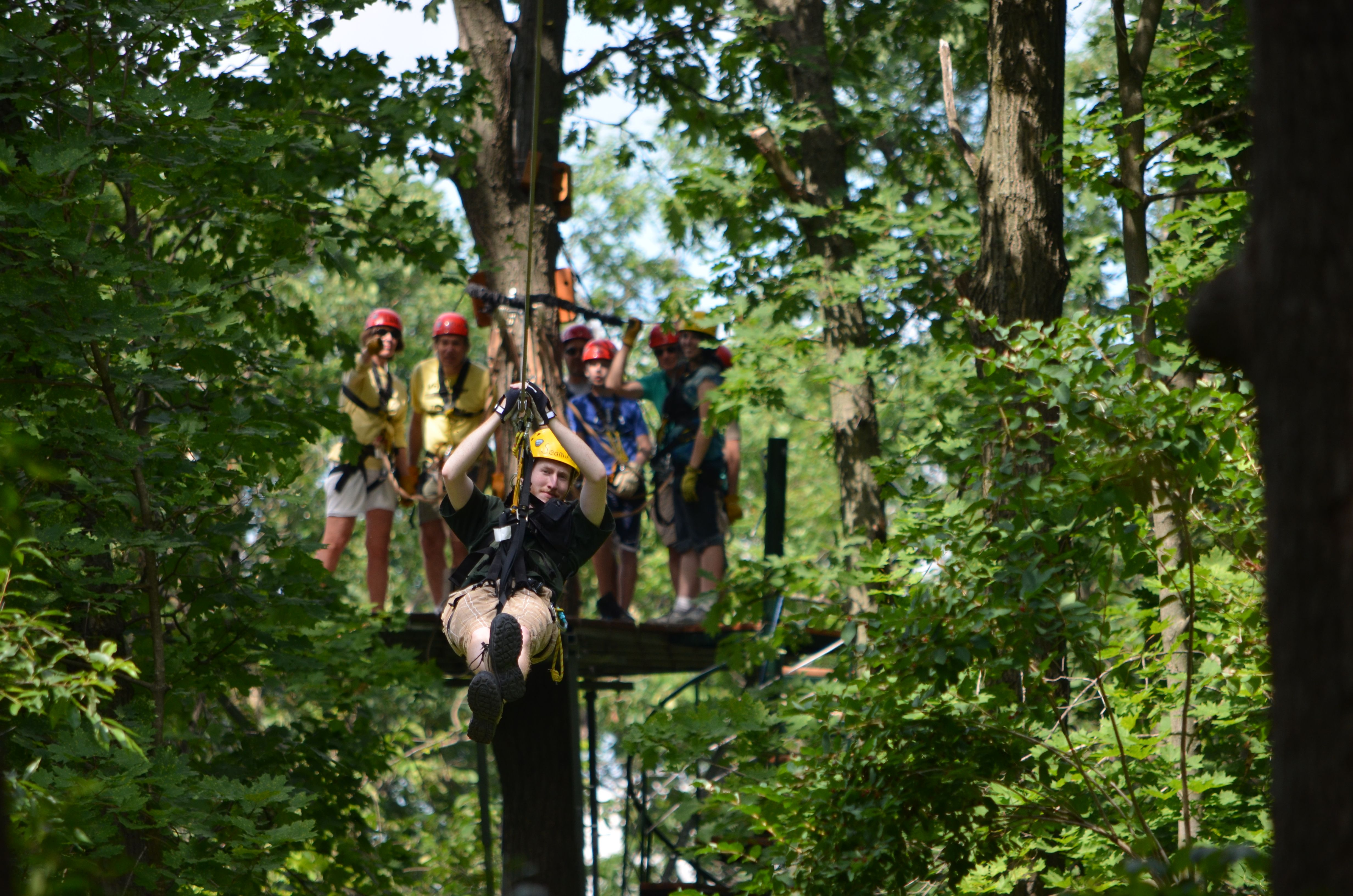 Visit Lake Geneva Canopy Tours For A Day Of Adventure And Fun