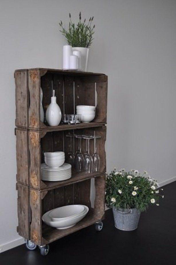 Mit Diesen Ideen Machen Sie Aus Alten Kisten Stilvolle Dekoration!   DIY  Bastelideen   Deko   Pinterest   Alte Kisten, Diy Bastelideen Und Kisten