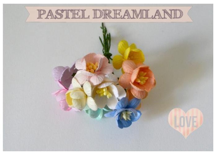 Pastel Dreamland: Flores de cerezo - Kichink