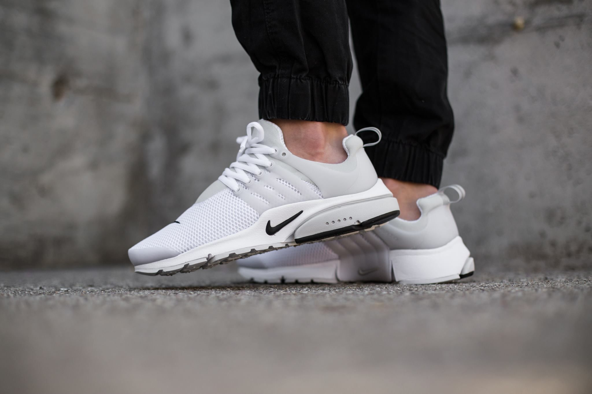 Cheap Nike Air Presto All White Mens Womens