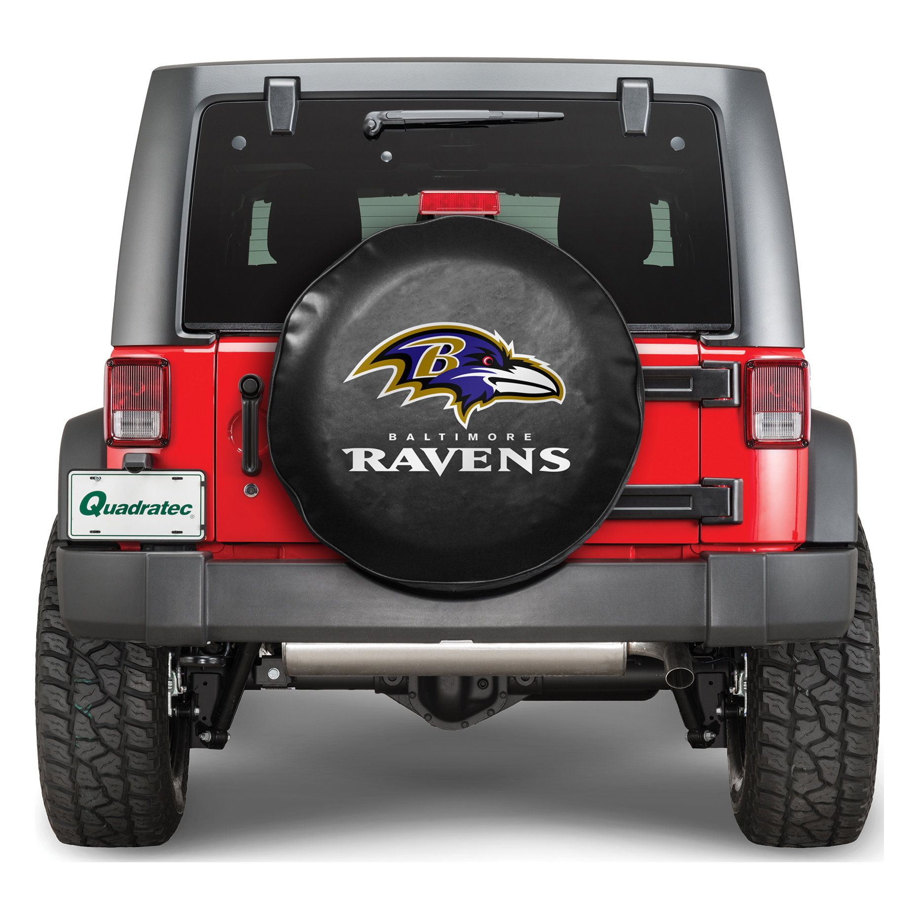 Nfl Baltimore Ravens Official Tire Cover 2010 Jeep Wrangler