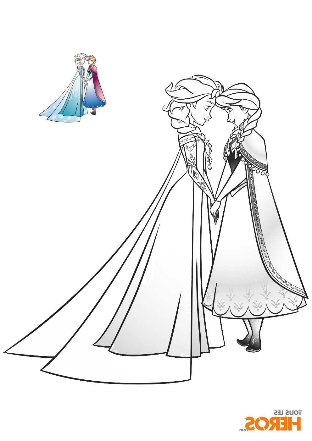 23 Cool De Coloriage Reine Des Neiges Elsa Stock  Coloriage reine