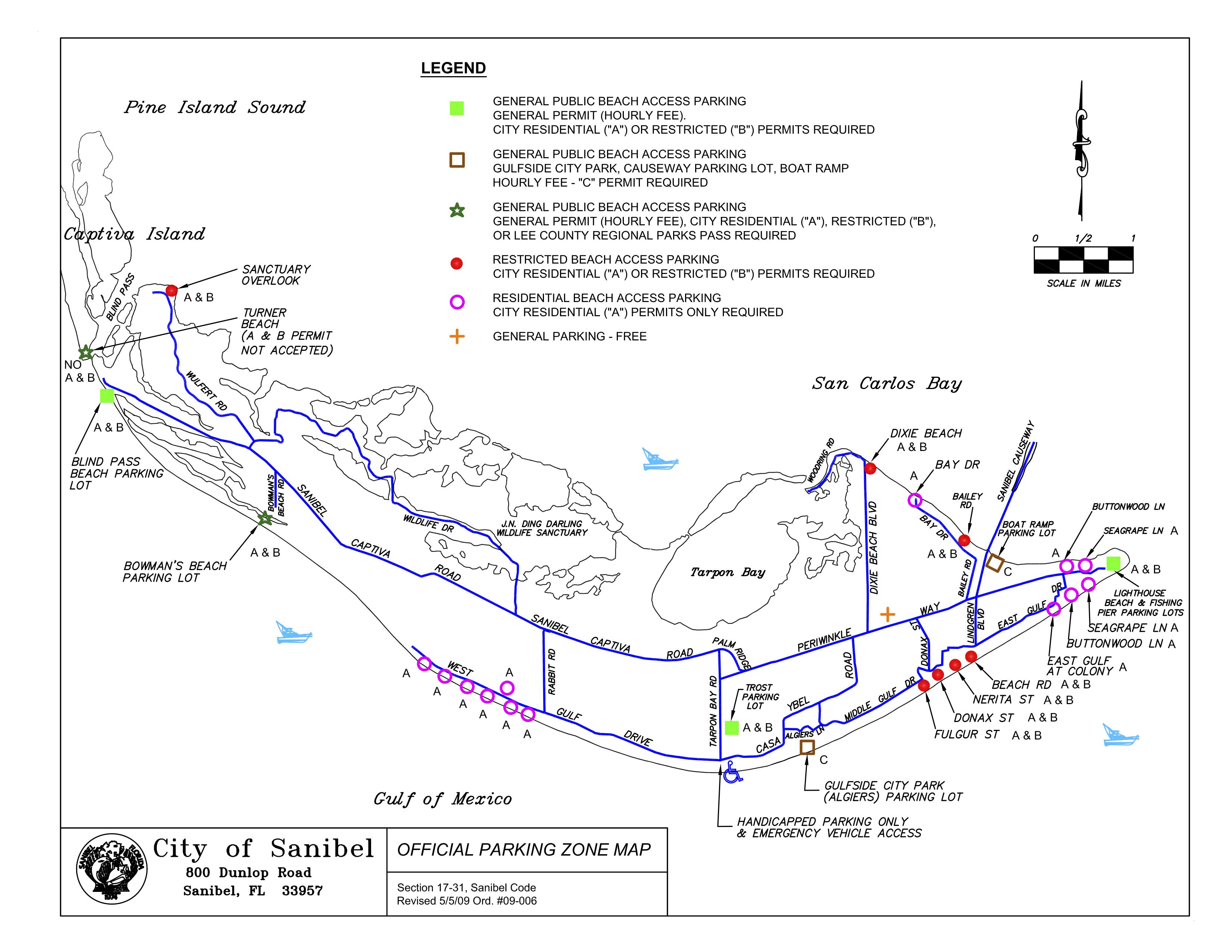 MAP PARKING ON SANIBEL Travel Pinterest Sanibel island Park