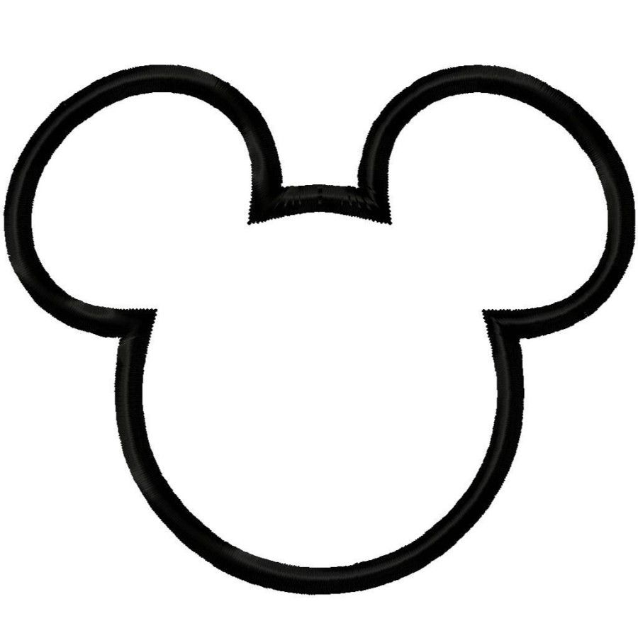 Mickey Mouse Face Pesquisa Google Moldes Pinterest