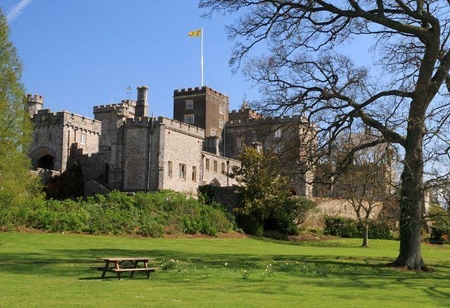 Powderham Castle, Devon, England.