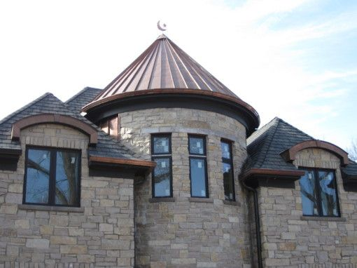 Standing Seam Metal Roofs | Illinois Custom Copper : conical roofs - memphite.com