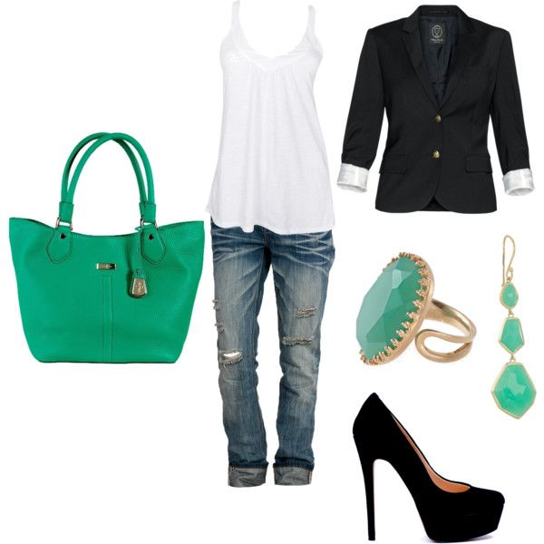 First creation on polyvore... I think I'm already obsessed!