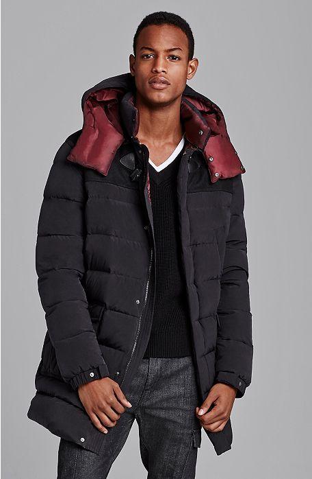 sale retailer price reduced popular brand Down Puffer Stadium Coat - Luxe - Mens - Armani Exchange ...