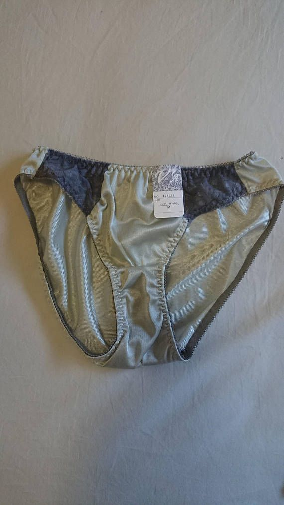 0f1d0065947e1 A set of 3 x NWT Vintage Nylon Bikini Panties from Japan