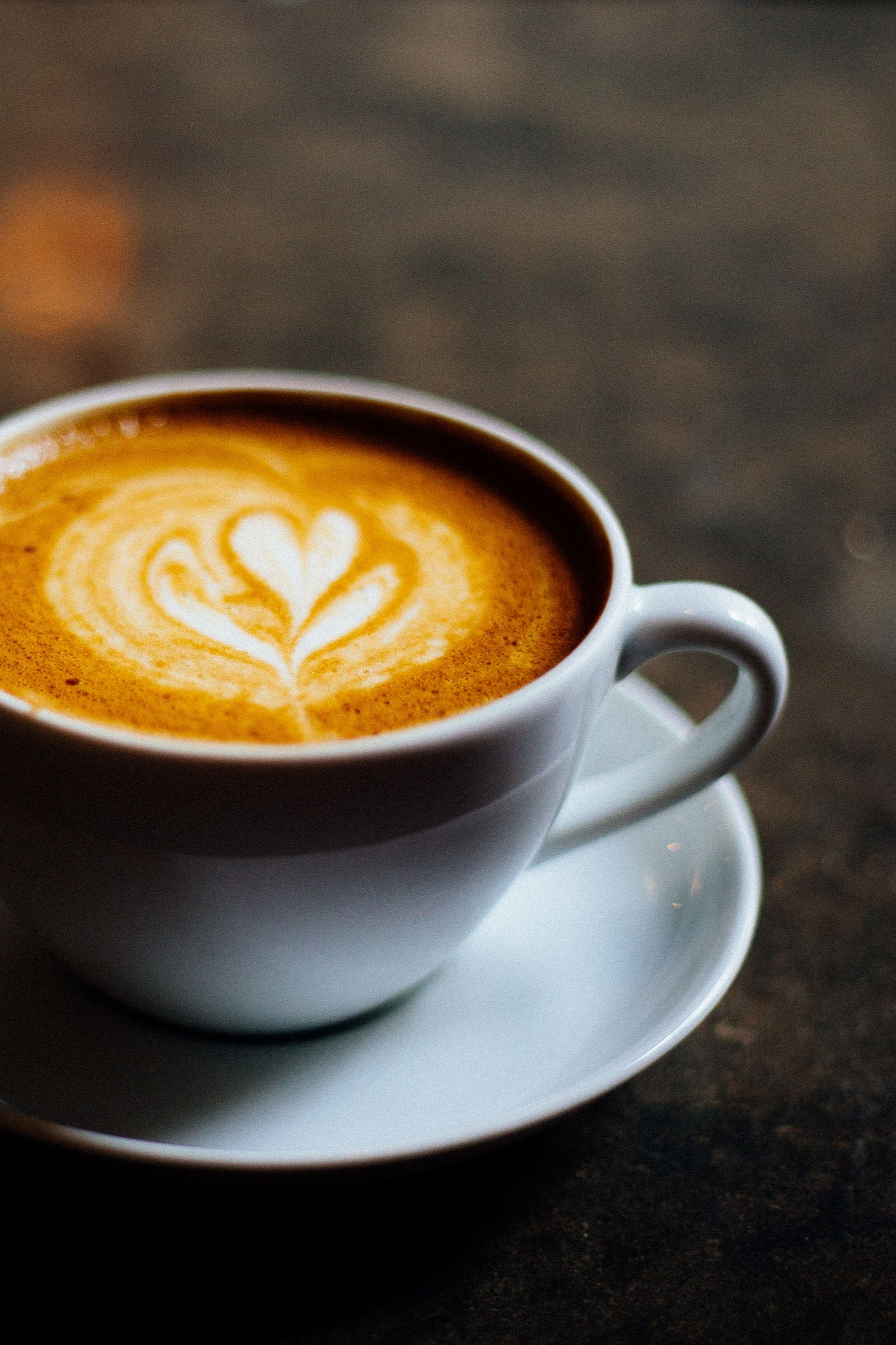 Cup of Coffee with Heart Latte Art in 2020 Melbourne