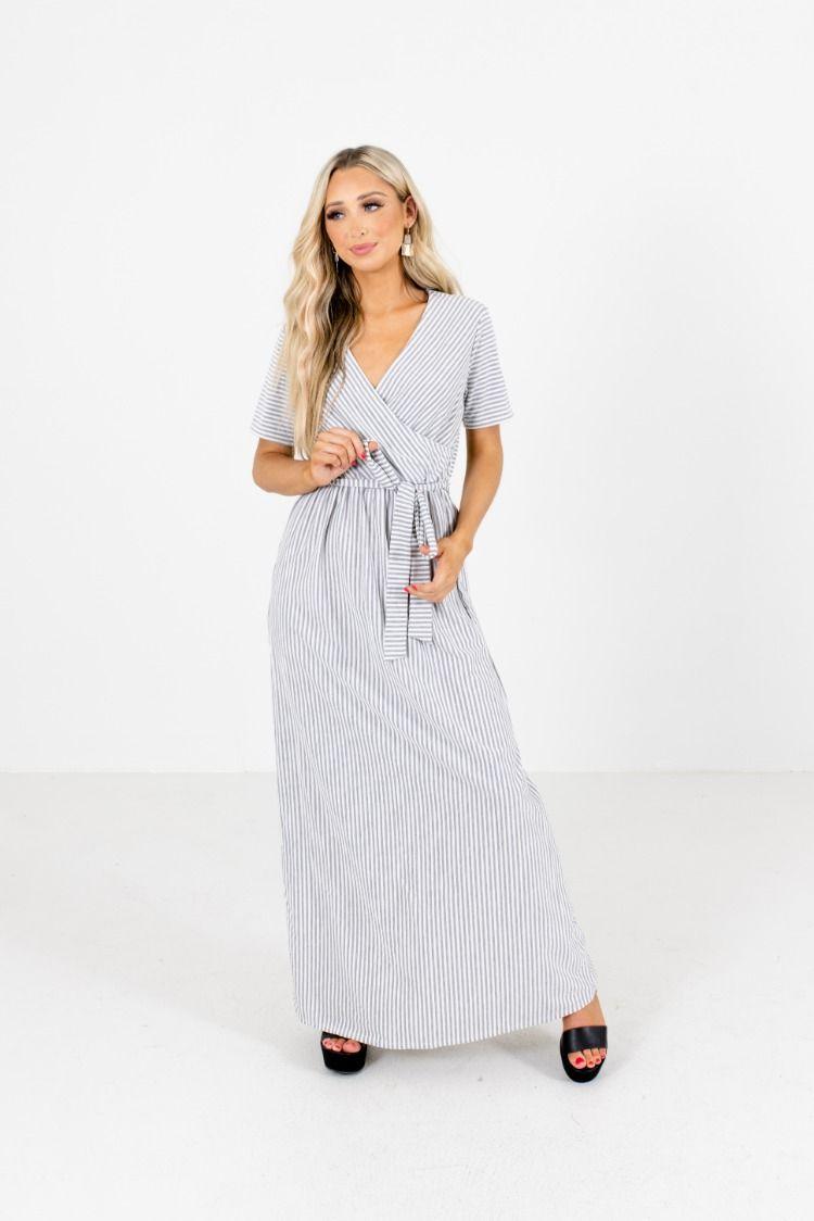Weekend Retreat Striped Maxi Dress Striped Maxi Dresses Maxi Dress Dresses [ 1124 x 750 Pixel ]