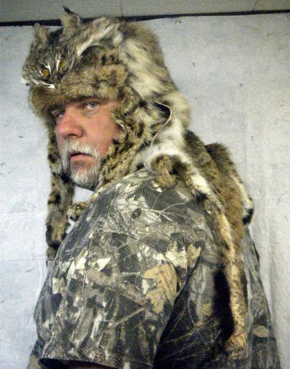 Bobcat Mountain Man Hat | Last seen looking at    | Hats for
