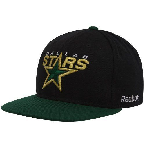 3ee5758d239 NHL Dallas Stars Reebok Snapback Hat (Black Green) by Reebok.  16.72 ...