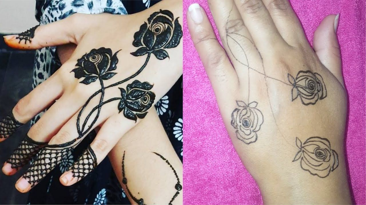 Learn How To Make Perfect Rose Mehndi Design Just Easy Step July 2018 Rose Mehndi Designs Henna Designs Hand Mehndi Designs