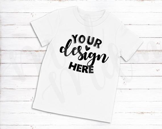 3 Mockups Kids White T Shirt Mockup In 2019 Shirt Mockup