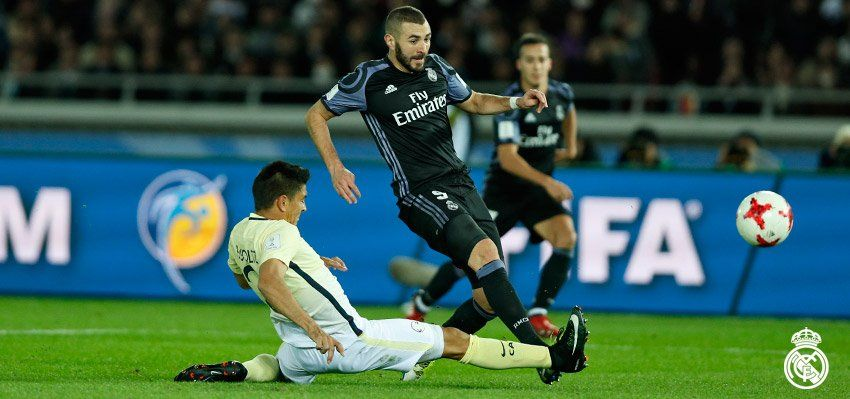 Club America-Real Madrid 0-2: Benzema-Cr7, merengues in finale - http://www.contra-ataque.it/2016/12/15/real-madrid-finale-mondiale-per-club.html