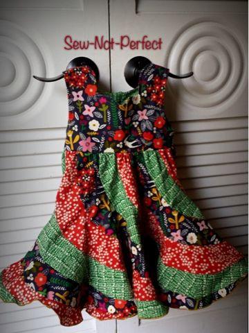 peppermint swirl dress pattern free - Google Search