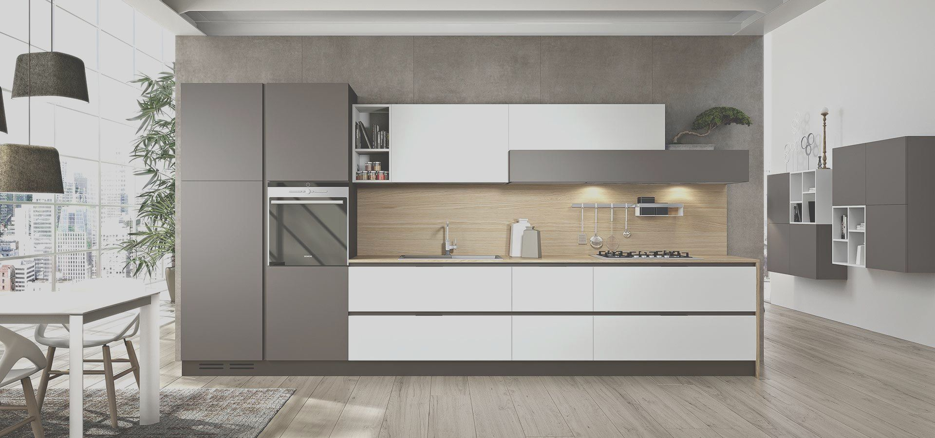 8 Beneficial Linea Decor Kitchen Photos In 2020 Kitchen Cabinets Without Handles Kitchen Without Wall Cabinets Modern Kitchen Cabinets