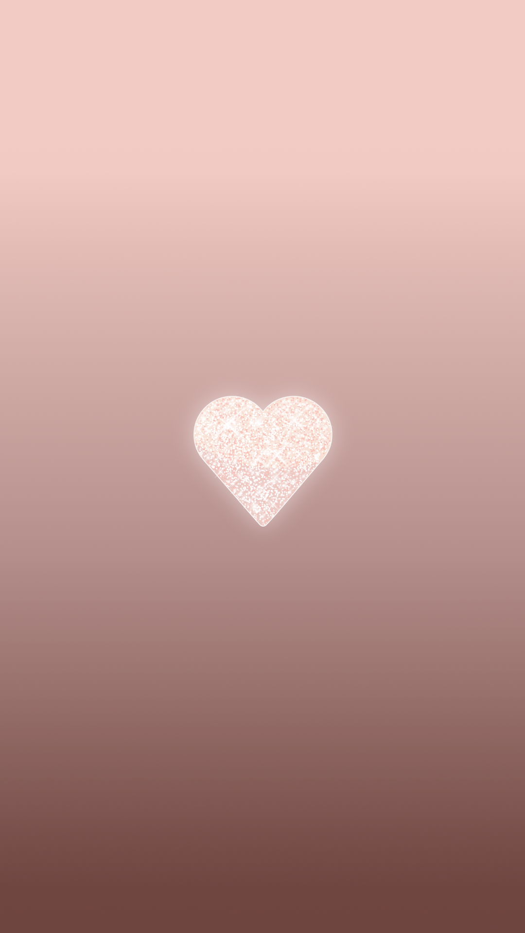 Rose gold iphone wallpaper tumblr - Rose Gold Heart Phone Wallpaper Background Lock Screen