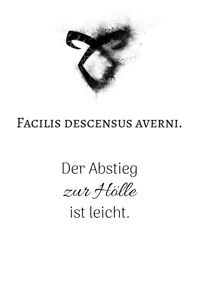 shadowhunters #motto #chronikenderunterwelt #zitat #latein | dodo
