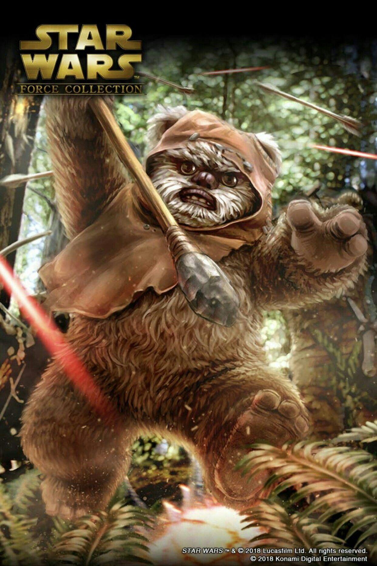 Star Wars Battlefront Ii Ewok Hunt Game Mode Star Wars Force Collection Star Wars Pictures Star Wars Images
