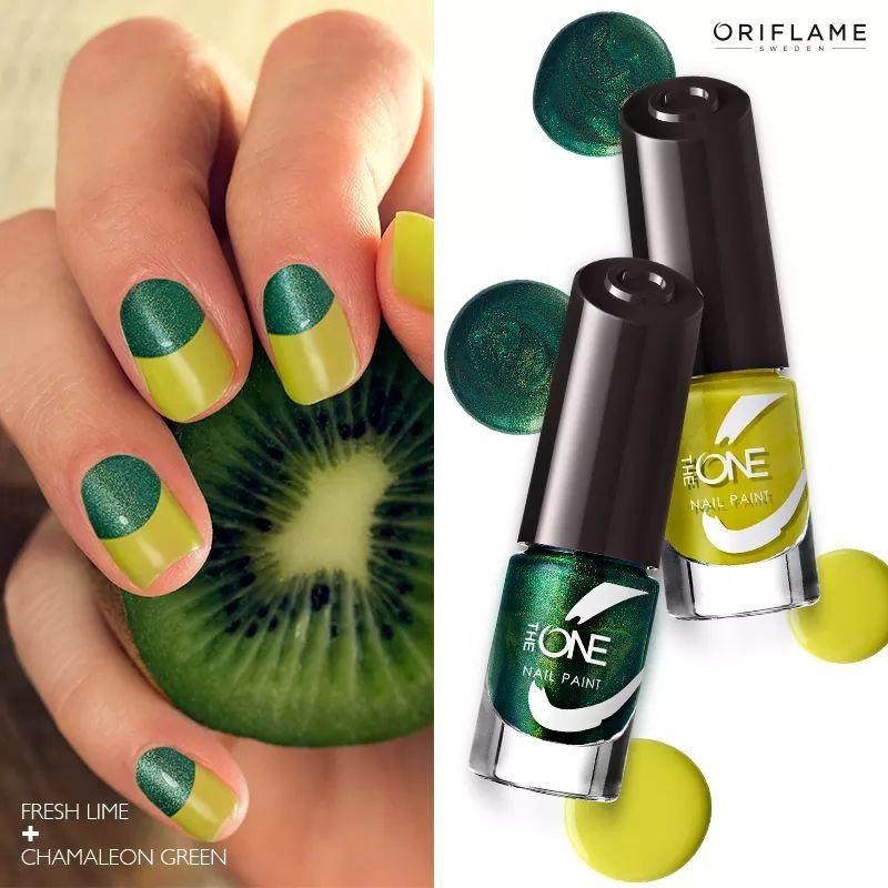 The One Olor By Oriflame Cosmetics Mb Perawatan Kuku Kutek Kutek Kuku